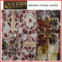Tecido de cortina com estilo impresso preço barato EDM0560