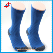2015 Navy Blue Functional Coolmax Benevolent Men Sport Compression Socks