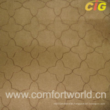 Embroidery Faux Suede with T/C Fabric (SHSF04349)