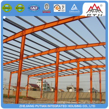 Modern comfortable steel structure prefabricated building