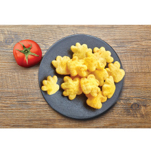 Tomato-flavored bear paw crisp