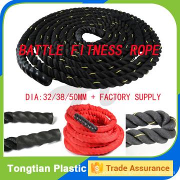 Corde de combat à vendre équipement de gymnastique / corde de puissance de crossfit pour la formation