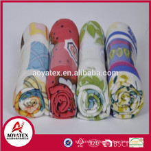100% polyester polaire couverture solide, stock polar polaire couverture espagne, imprimé polaire couverture porcelaine