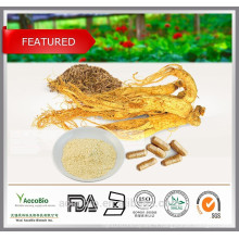 Poudre d'extrait de ginseng sibérien 100% naturel de haute qualité en vrac Eleutheroside B + E 0.8%