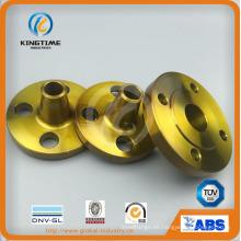 Brida de cuello de soldadura de acero al carbono A105n para ASME B16.5 (KT0393)