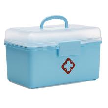 Ящик для хранения пластиковой медицины для домашнего хранения (SLSN058)