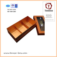Small PVC Window Chocolate Box Cardboard Gift Box