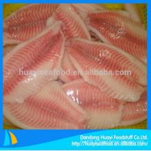 Filet de poisson tilapia en gros congelé avec un prix supérieur