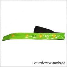 LED Reflective Armband with CE En13356