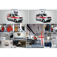 Ambulance à usage hospitalier