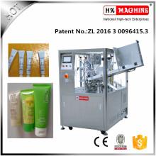Máquina de llenado y sellado de tubos con crema para blanquear y crema corporal para bebés
