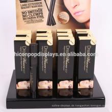 Counter Top Large Black Acryl Wimpernverlängerung Display Case Kosmetik Shop Makeup Aufbewahrungsbox
