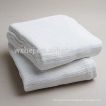 Fabricantes de cobertores hospitalares térmicos 100% algodão de toques suaves