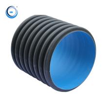 underground large diameter plastic hdpe pipe draining water