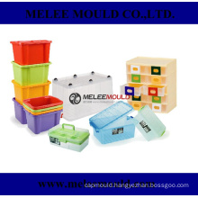 Plastic Injection Crate Container Mould Tooling
