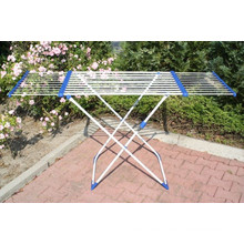 Outdoor towel rack to calapsible clothes rak