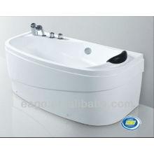 EAGO classique acrylique salle de bain Baignoire avec oreiller LK1001