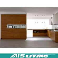 Meubles d'armoires de cuisine en mélamine en forme de L (AIS-K398)
