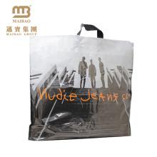 luxuriant plastic tea packing bag handle bag