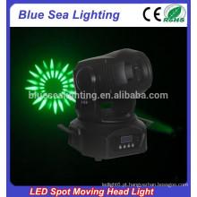 2015 venda inteira 75w brilho colorido mini led spot moving head