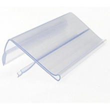 Co-extrusion label holder/price strip/promotion display product with 100% PVC material