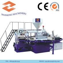 Machine rotatoire de PVC pour faire des pantoufles en plastique