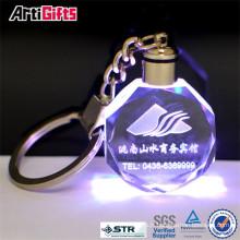 Keychain de lettre de cristal de haute qualité