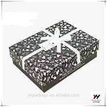 Boîtes d'emballage de carton de stockage personnalisé fantaisie