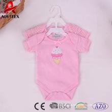 Baumwolle Baby Kleidung Neugeborenen gestrickte Baby Body Strampler