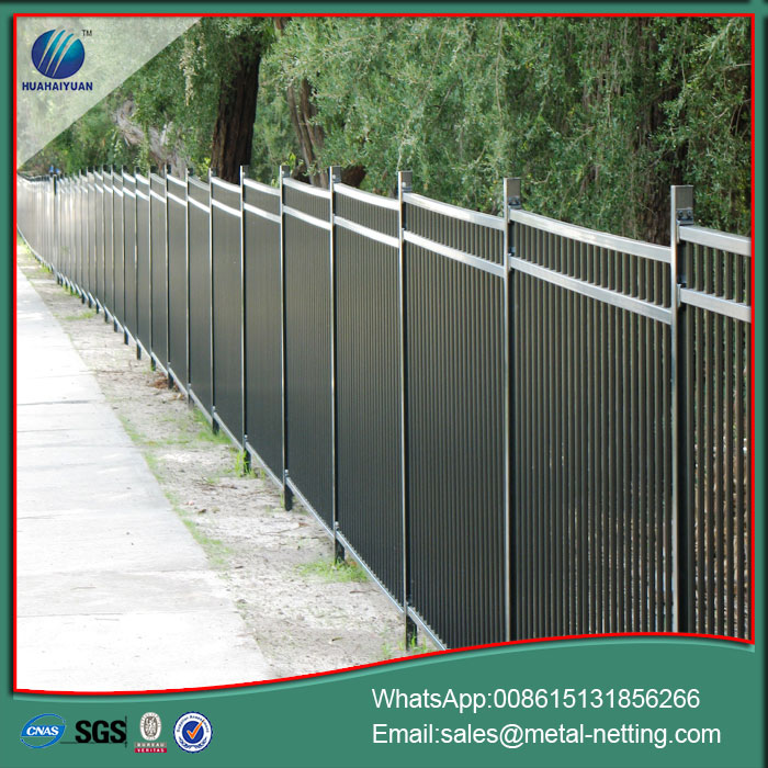 metal steel fencing