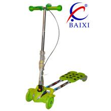 Rodas Dobráveis e Piscando Crianças Swing Frog Scooter (BX-WS003)