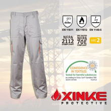 Modacrylic fire resistant pants