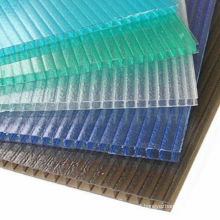 5mm 6mm 8mm 10mm Low price colored plastic sheet heat preservation polycarbonate greenhouse panels for office accessories