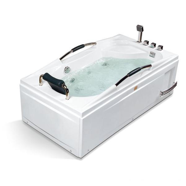 One Person With Handle Massage Bathtub