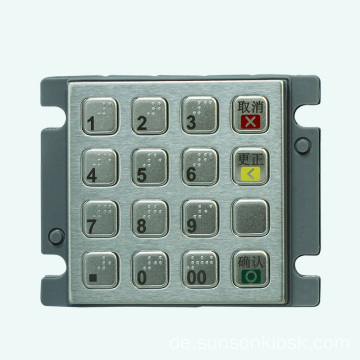 Anti-Riot Encrypted PIN Pad