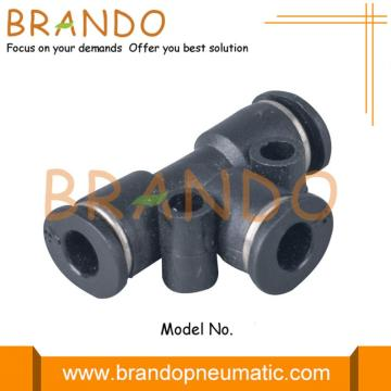 Union Tee Push-In Miniature Pneumatic Fittings 3mm 6mm