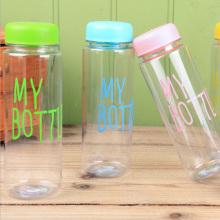 Colorido mi botella de plástico deportes bebida botella de agua (SLSB05)