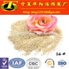 Heißer verkauf fabrik preis mais cob pilz granulat für chemische reinigung industrie
