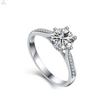 2018 Mulheres Jóias De Casamento Noivado Bule S925 Sterling Silver Zircon Rings