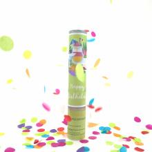 12 '' Neue Produkt Multi-color Konfetti Party Popper für Geburtstagsfeier Feier