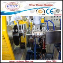 Linha espiral da máquina da produção da tubulação do fio de aço do PVC