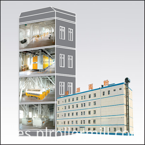 200t concrete building
