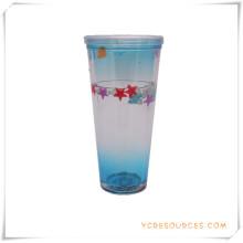 Doppelwand Frosty Mug Frozen Ice Bierkrug für Werbegeschenke (HA09073-3)