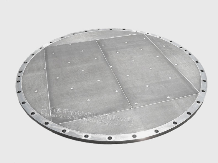 Sintered Porous Metal Filter Disc