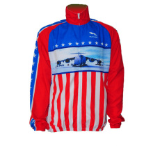 Mulheres bicicleta jersey manga longa eua estilo (cyc-10)