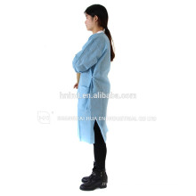 hot sale anti bacterial waterproof antistatic white medical lab coat for hospital use
