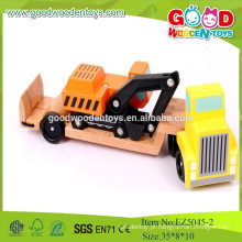 2015Praca de madeira nova, brinquedos bons veículos, carro de madeira natural para crianças