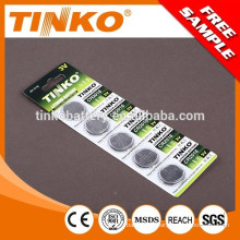 Lithium Manganese Button cell battery CR2016