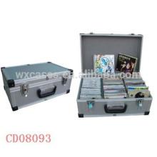 caja de aluminio DVD de discos (10mm) de 60 CD de alta calidad ventas por mayor