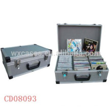 vendas por atacado da caixa de alumínio DVD de discos (10mm) de 60 CD de alta qualidade